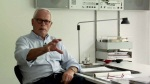 Image of Dieter Rams in an office
